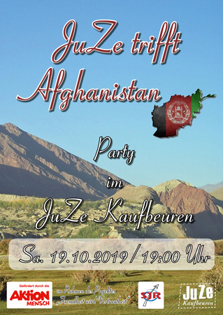 JuZe trifft Afghanistan - Party